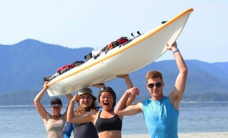 kayak sea ocean youth coast