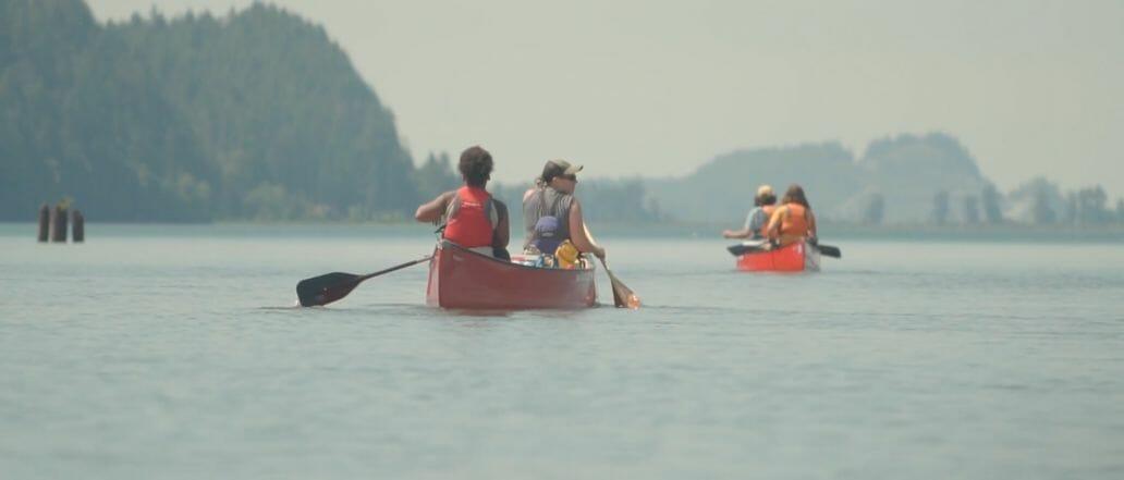 west coast canoers