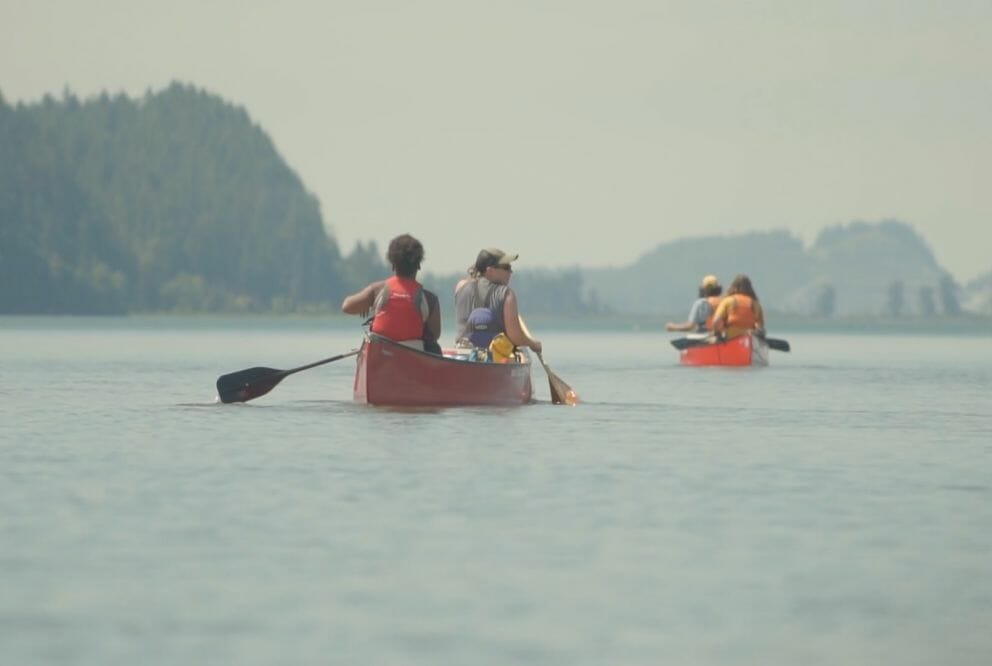 west coast canoers