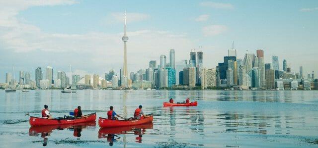toronto urban canoeing