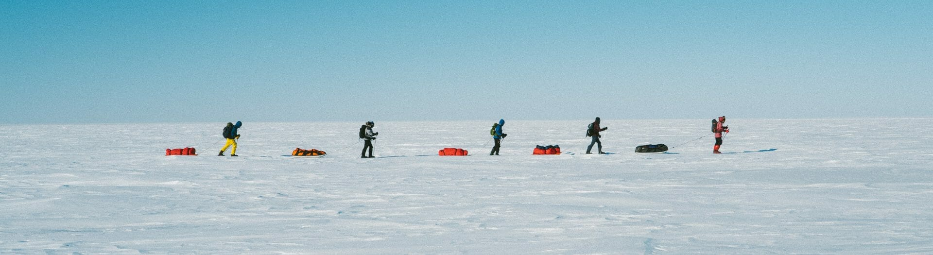 Magnetic north pole reach beyond expedition