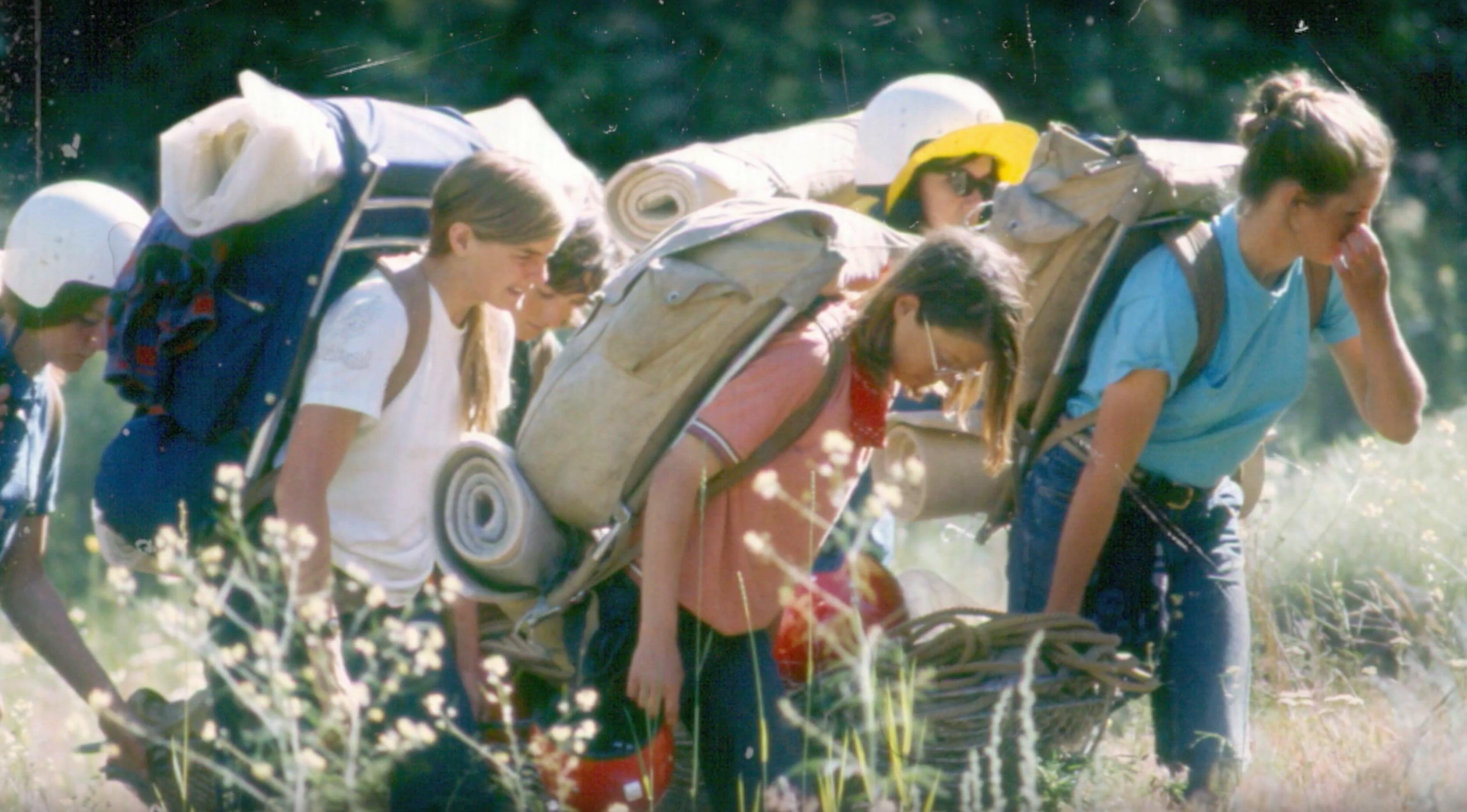 hiking vintage rockies youth