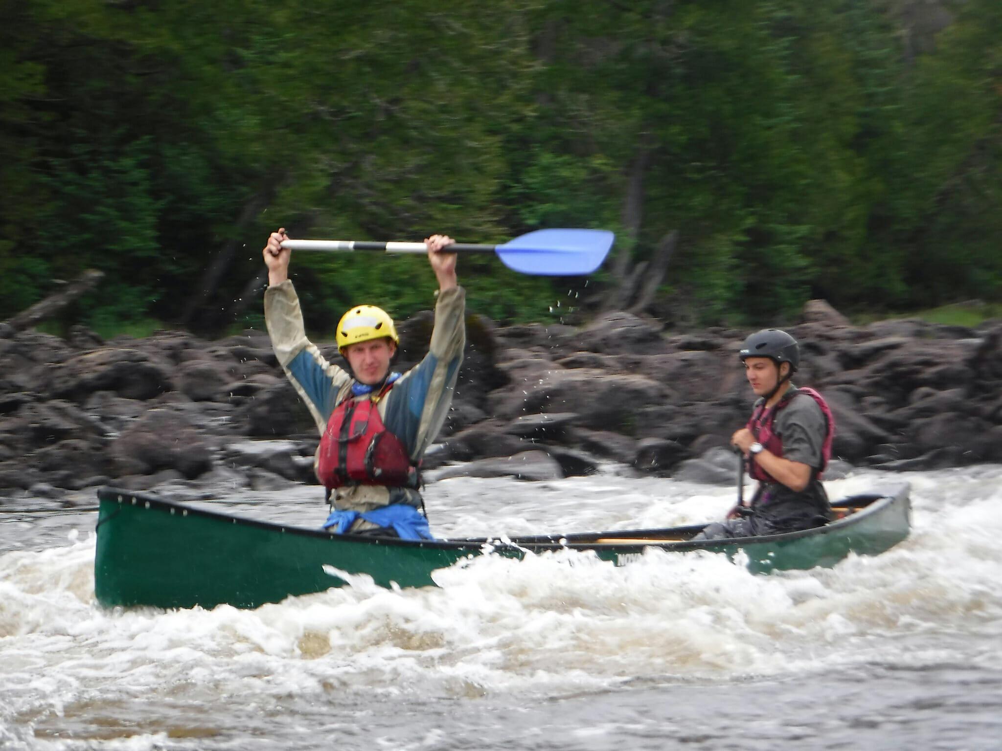 rapids-canoeing
