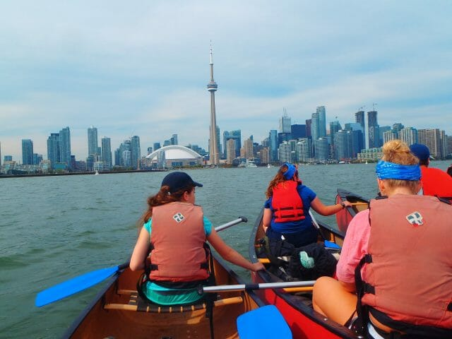 Toronto Urban Canoe