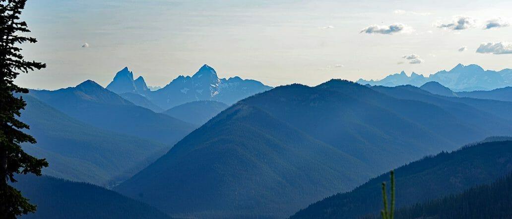 west coast mountain peaks