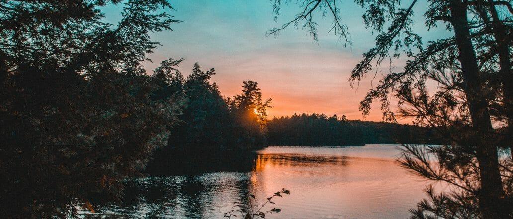 Ontario Lake Sunset