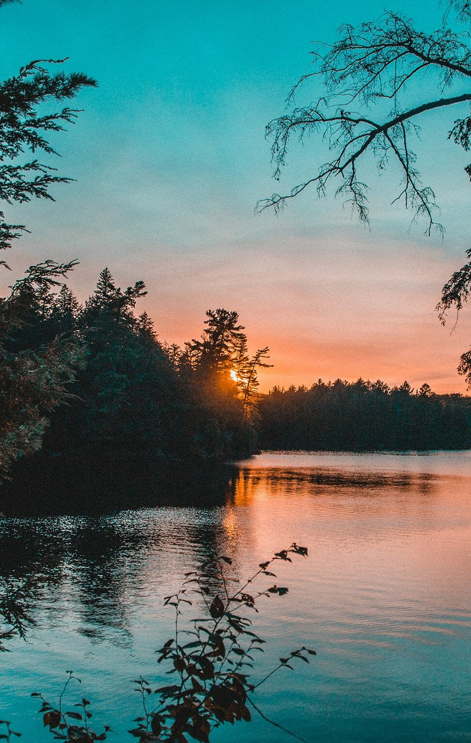 Ontario Lake Sunset