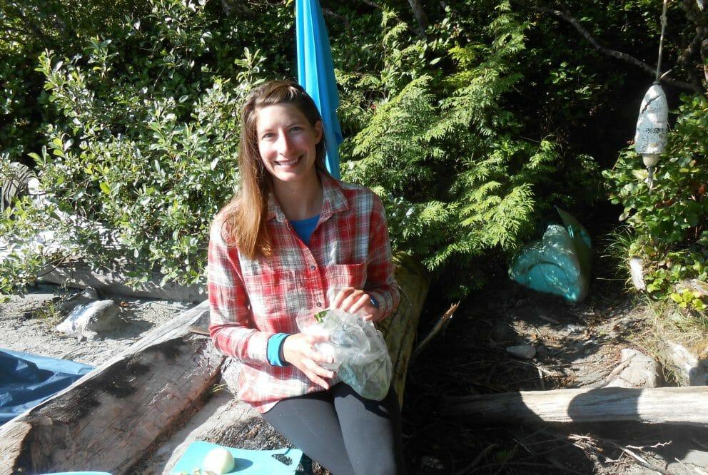 Jill Zeppa camping
