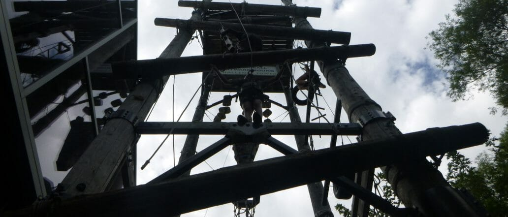 Challenge Tower Ropes Course
