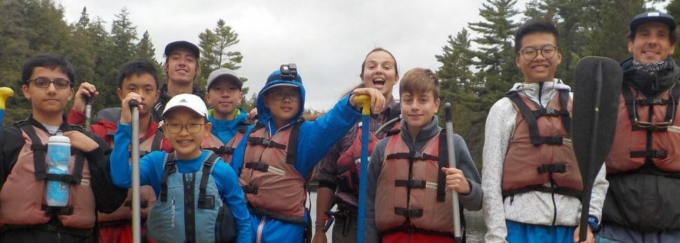 Canoeing Ontario youth summer adventure